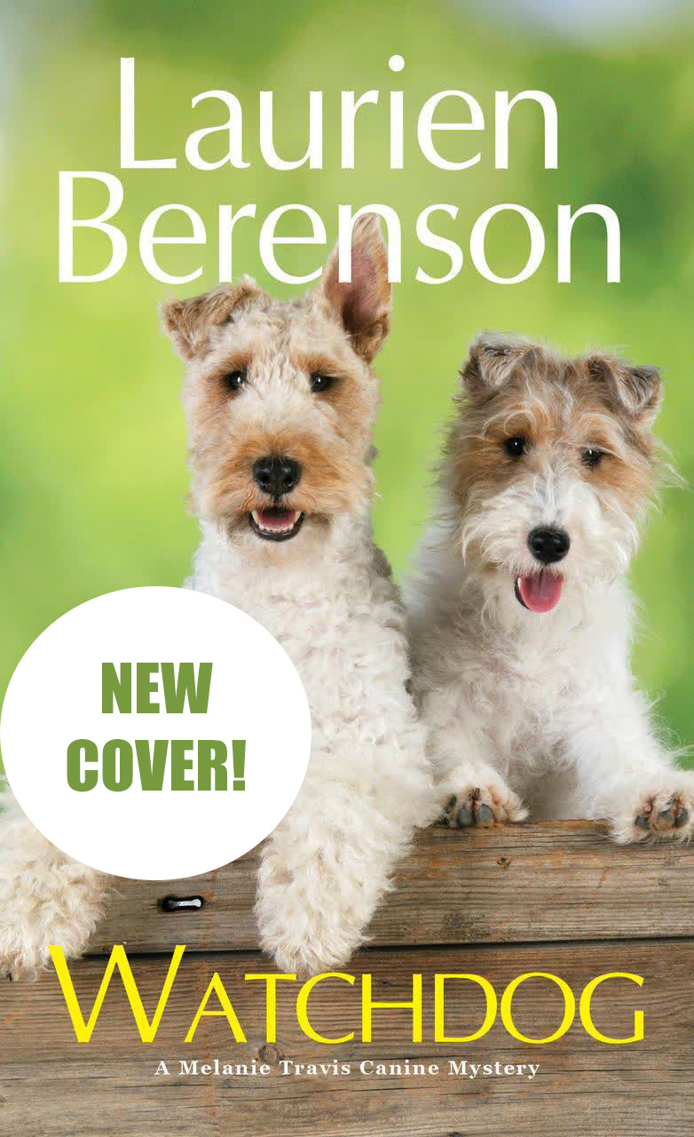 New Cover for Watchdog by Laurien Berenson